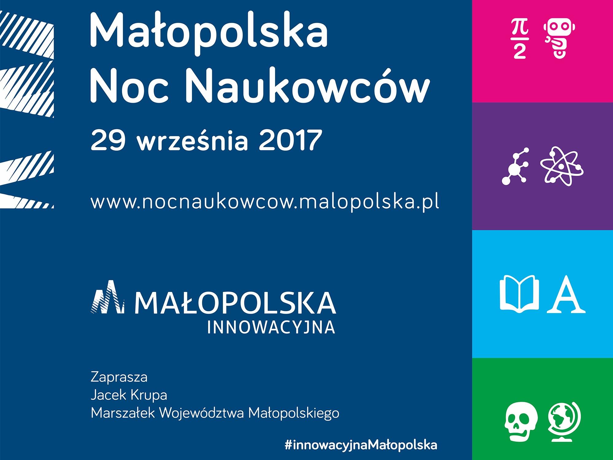 KreaTechpartneremNoc Naukowców2017 w Krakowie!